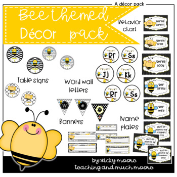 Bee themed class pack