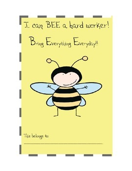 Bee-themed classroom management and resource packet
