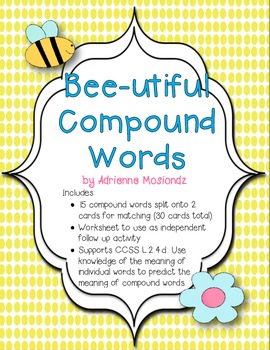 Bee-utiful Compound Words!