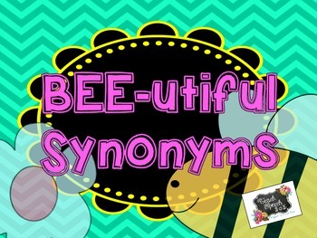 Bee-utiful Synonyms
