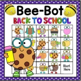 BeeBot Back To School Cookies