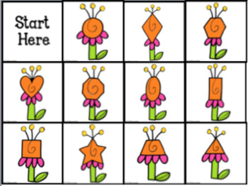BeeBot Flower Shapes