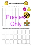 BeeBot Maze Challenge Activity Sheet