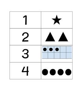 BeeBot Number Task Cards 1-10