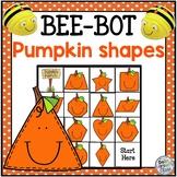 BeeBot Pumpkin Shapes