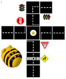 BeeBot Road Maze Mat