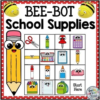 BeeBot School Supplies