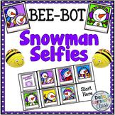 BeeBot Snowman Selfie