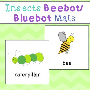 Beebot/Bluebot Insect Mats