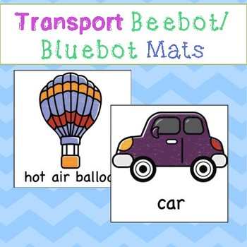 Beebot/Bluebot Transport Mats