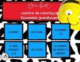 Beebot - Centre de robotique - ensemble grandissant