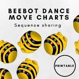 Beebot Dance Chart Display