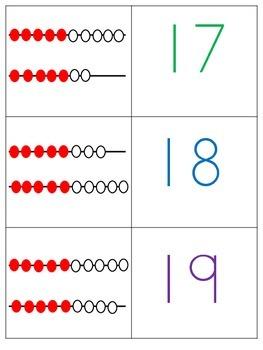 Beebots-STEM Numbers 11-20 with Rekenreks and Tens Frames