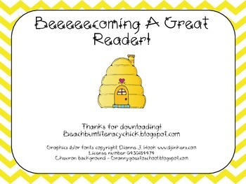 Beeecoming A Great Reader!