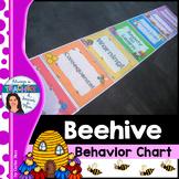 Beehive Classroom Decor Theme - Behavior Chart with EDITABLE name tags