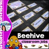 Beehive Classroom Decor Theme - Classroom Jobs with EDITAB