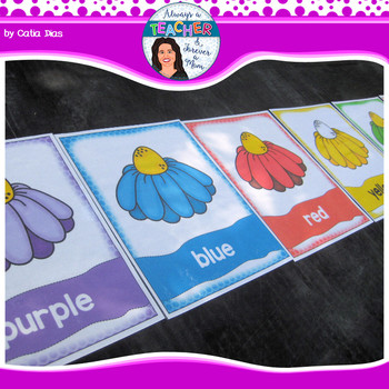 Beehive Classroom Theme - Colors Posters