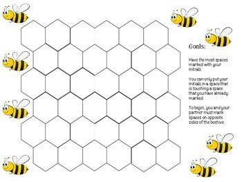 Beehive - Fun, low-prep vocabulary game for the world language classroom