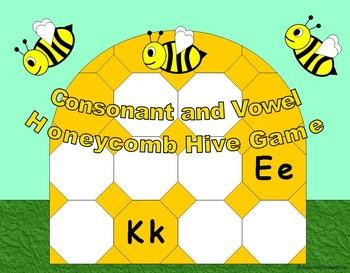 Spring Activities Phonics Beehive Honeycomb
