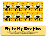 Beehive Math Game - Additon 0 -10 Mats - Learning Center Kit