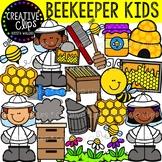 Beekeeper Clipart {Creative Clips Clipart}