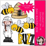 Beekeeper clip art - Mini - Melonheadz Clipart