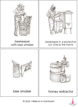 Bee Beekeeping Coloring Book