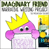 Beekle Imaginary Friend Narrative Writing Prompt and Activity
