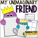 Beekle Imaginary Friend Narrative Writing Project