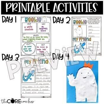 The Adventures of Beekle: Interactive Read-Aloud Lesson Plans and Activity