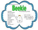 Beekle, Speech/Language Therapy, AAC activity, Narrative unit
