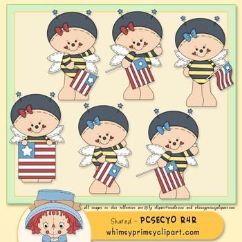 Beelinda - American Flag