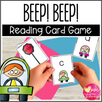 Beep! Beep! A letter recognition card game
