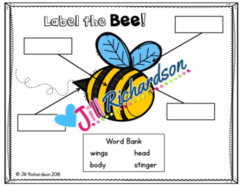 Bees Writing Flap Books!