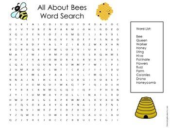 Bees Unit Activity