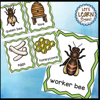Bees Life Cycle, Bee Posters, Write the Room, Bee Themed Writing Activities