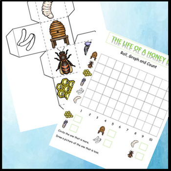 Bees Life Cycle, Bee Themed Math, Graphing Activities, Poetry Search