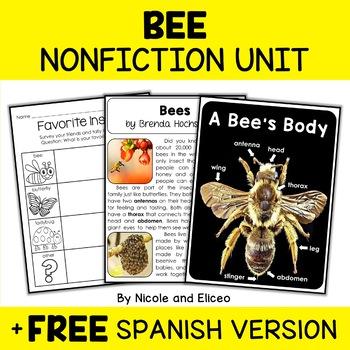 Nonfiction Unit - Bee Activities
