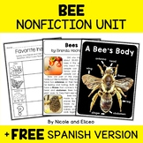 Nonfiction Unit - Bee Activities