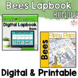 Bees Activities Interactive Notebook Digital and Printable Bundle