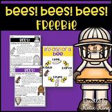 Bees! Bees! Bees! FREEBIE