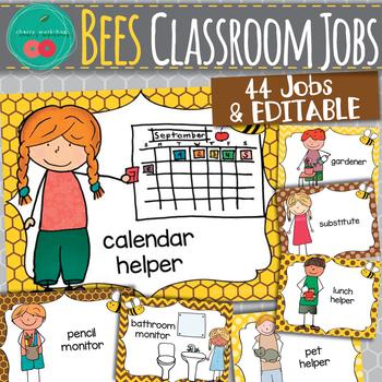 Bees Classroom Jobs