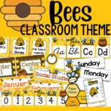 Bee Theme: Classroom Decor (BUNDLE)