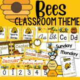 Bee Theme: Classroom Decor (BUNDLE)