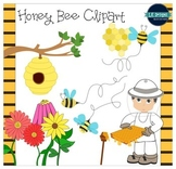 Honey Bees Clipart