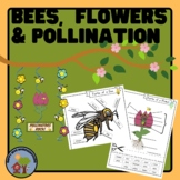 Bees, Flowers and Pollination - Diagrams Worksheets