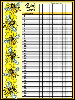 Bee Teacher Binder: Honey Bee Classroom Kit and Lesson Planner