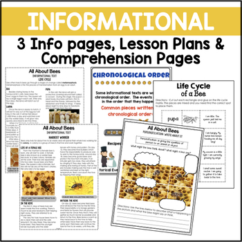 Bees {Informational Text, Story & Poem}