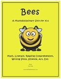 """Bees"" Math and Literacy Unit - Aligned with Common Core S"