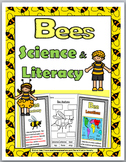 Bees Life Cycle Science and Literacy  - Bees Unit - Bees S
